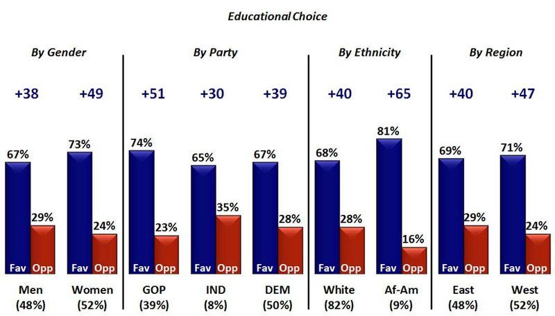 Edchoice support poll